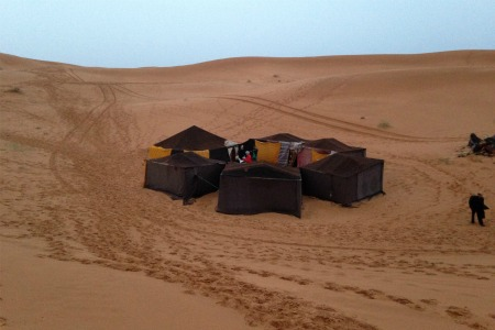 Merzouga camel trek and info