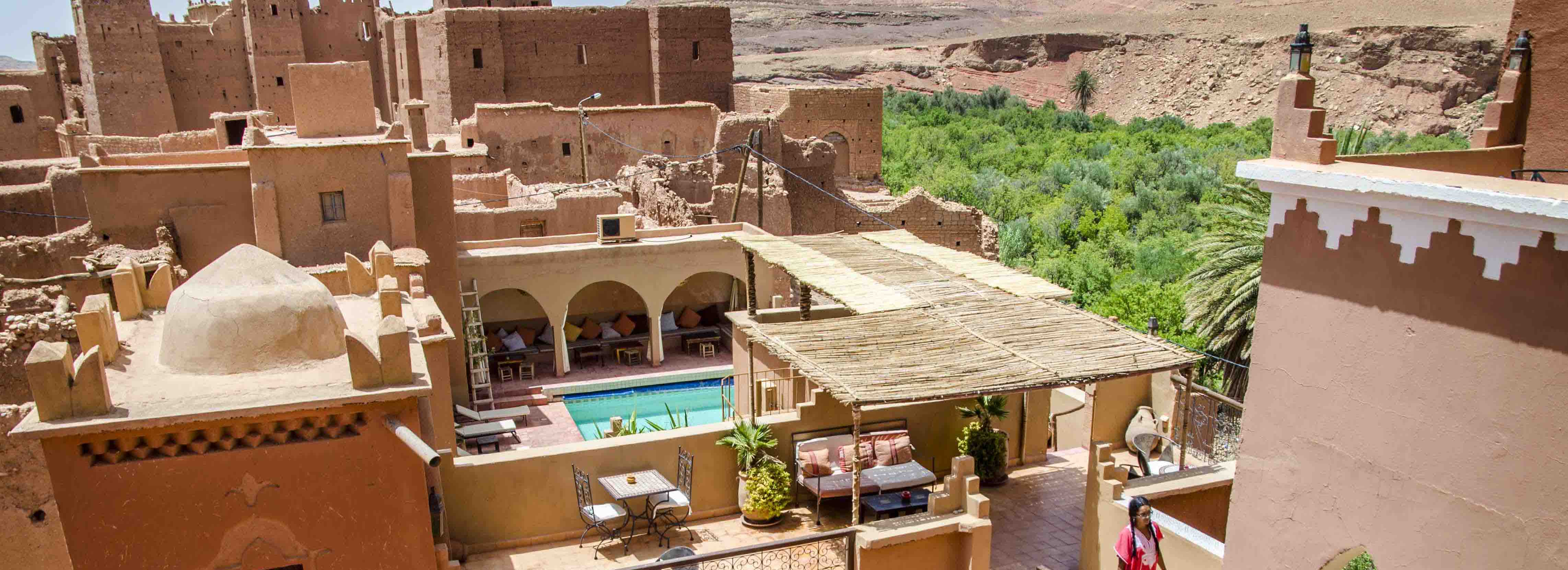 kasbah the best place to take a rest in gorge todgua