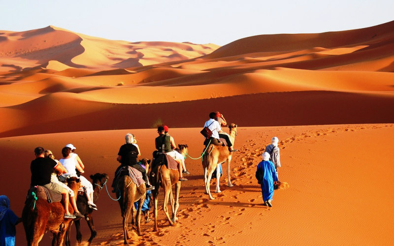 merzouga desert tour from fes