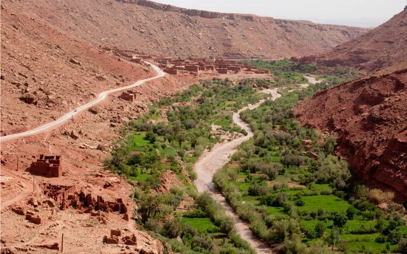 el valle de Telouet