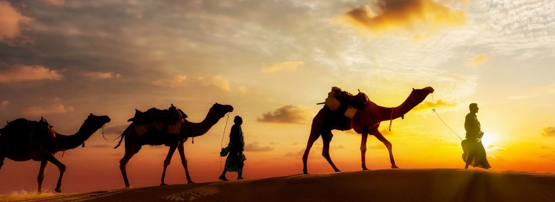 Recharge your soul with a Sahara Sunset