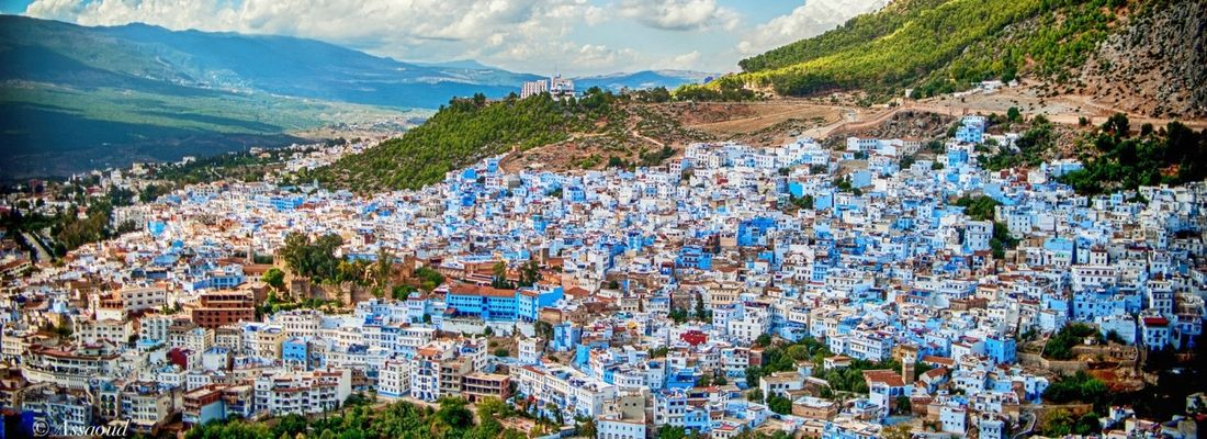 Enjoy the colourful and cheerful Morocco